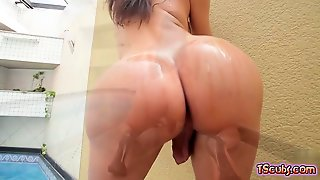 Brazil Shemale Anal Sex With Cumshot