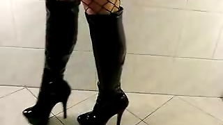 Fishnet And Boots
