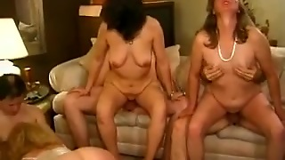 Classic Sexy Grannies And Cougars Fuckfest