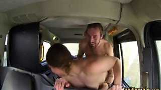 Female Taxi Driver Fucks In Taxi