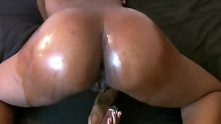 Masturbating With Oiled Up Ass