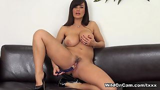 Best Pornstar Lisa Ann In Exotic Masturbation, Big Tits Porn Video