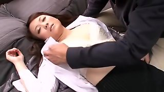 Horny Japanese Chick Arisa Kimino In Crazy Wife Jav Clip