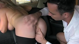 Femalefaketaxi Tourist Introduced To Taxi