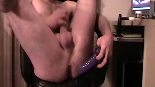 Cumming To Xhamster With Anal Toy.