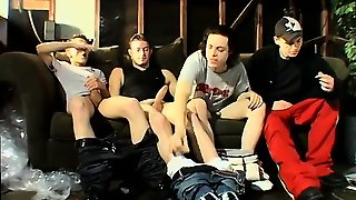Gay Sex Boys Small Garage Smoke Orgy