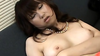 Oriental In Stockings\' Sexy Blowjob