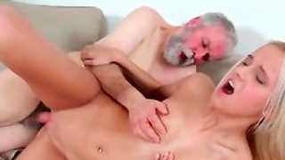 Old N Young Com, Slim, Smalltits, Oral, Rubbing, Pornstars, Blowjob, Cumshot, Blonde, Youngold, Riding