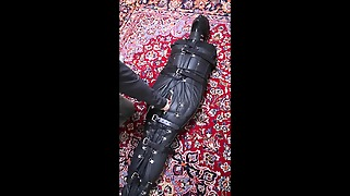 Bound Head To Toe In Leather And Vibrated
