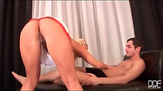 Beautiful Blonde Nurse Fucked In Hairy Vagina