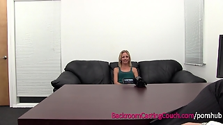 Skinny Fiance Ass Fucked, Anal Creampie On Casting Couch