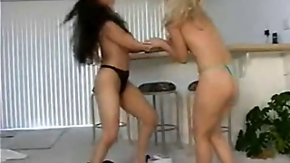 Delivery Girl Catfight 1