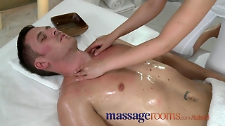 Massage Rooms Small Breasted Babes Are Made Wet Before Getting Fucked