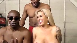 Ryan Conner Interracial Dp, Anal