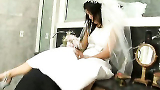 A Bride Gets Fucked By A Stranger