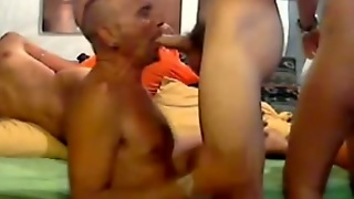 Bisex Orgy In Web Camera