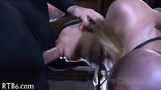 Tormenting Babe S Twat With Toy
