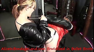 Sissy Strap-On Chastity Humiliation Mistress Femdom Pegging