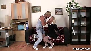 Office Slut Takes Angry Pounding