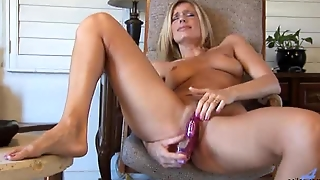 Mom Chooses Real Cock
