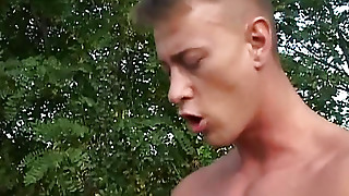Woman In Nature Fucking With A Man