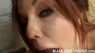 Watch Me Get Railed By Four Big Black Cocks