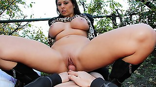 Public Adventure With Blow Job