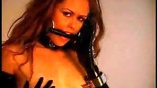 Nipple Clamps And Lesbian Play