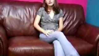 Cute Teen Tabita Giving Great Handjob