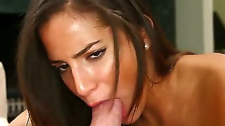 Chi Chi Medina Is One Passionate Sexy With Long Dark Hair And Natural Boobs. There Fire In Her Brown Eyes As She Gives Great Deep Blow Job To A Guy. She Is Ready To Suck His Fat Dick Non-Stop For Hours.