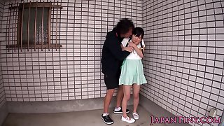 Facefucked Petite Japanese Jizzed In Mouth