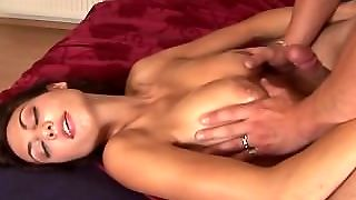Busty Daughter Deepthroat Cum Swallow