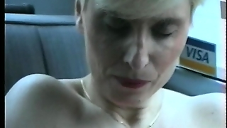 Pierced Nipples And Shaved Pussy  (Clip)