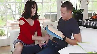 Bad Milf Amber Chase Gives Her Own Stepson A Blowjob