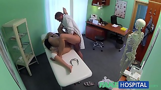 Doctors Cock Heals Sexy Squirting Blonde Girl