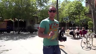 Magma Film Picking Up A Rollergirl In Barcelona