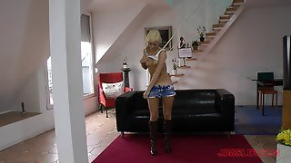 Fit, Hot Blonde Has A Soft Mouth She Loves To Wrap Around A Cock