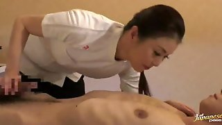 Pounding Hot Pussy Of Sexy Japanese Massage Woman