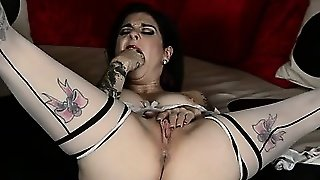 Joanna Angel In Lingerie And Stockings