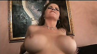 Busty Coffee-Grinder With Hairy Pussy And Huge Ass Is Cocked Up