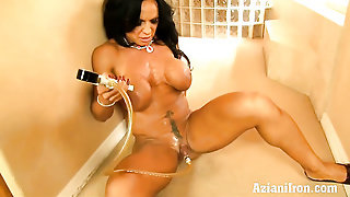 Aziani Iron Sexy Bodbuilder Rhonda Lee Get Naked And Pumps