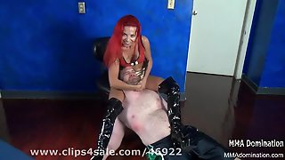 Fetish Fantasies- Beautiful Face Head Scissor Ko