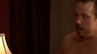Darla Crane Is A Good Looking Mature Woman With Nice Big Tits. Four-Eyed Woman Bares It All  And Then Find Mans Hard Dick In Her Hot Experienced Mouth. Watch Her Eat The Meat In Her Bedroom.