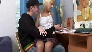 Russian Schoolgirl Banged