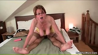 Young Guy Caught Fucking His Mother In Law