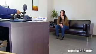 Claudia Bomb Pays A Visit To Our Casting Office To