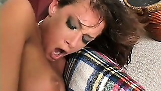 She Is A Nasty Brunette With Big Tits Who Fucks Loud And Cums Louder