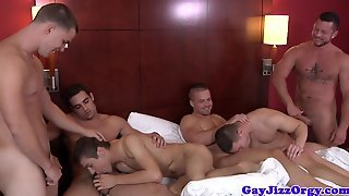 Charlie Hardings Orgy On A Bed With Pals