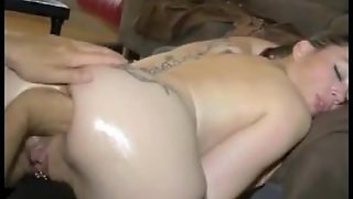 Butt Fisting And A Very Nice Blowjob