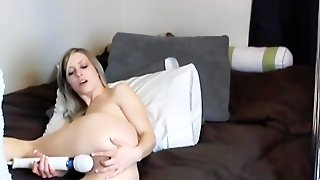 Skinny Hot Blonde And Her Toys Hd